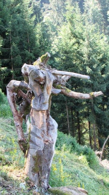 Paul Stadler - Land Art in Vorderschuhzach - 2017