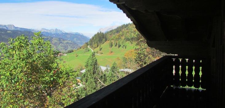 Vorderschuhzach Balkon