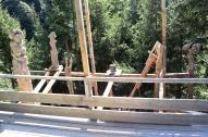Theater für Holzskulpturen